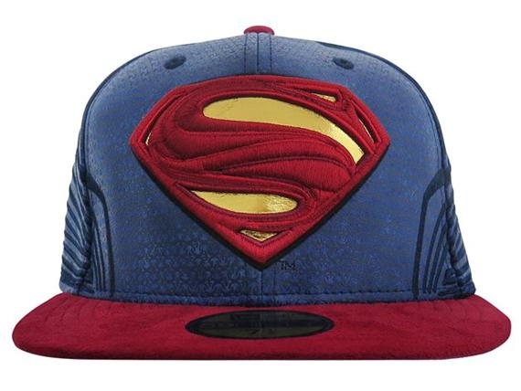 NEW ERA DC COMICS SUPERMAN 【CHARACTER JUSTICE LEAGUE/NAVY-RED [17_11_3 17_11RE]