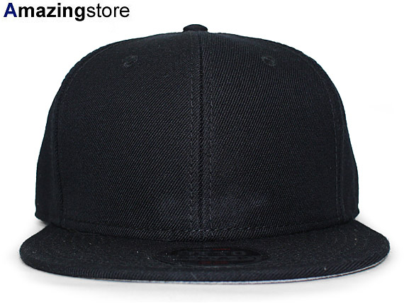 9a12cdc5d00 OTTO Otto snapback SNAPBACK BLANK blank plain fabric BLACK black black  hat  17 3 5OTTO for3000