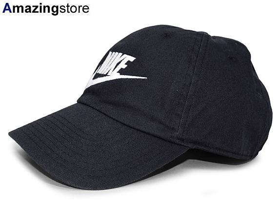 7b30255c NIKE Nike strap back row profile cap LOW PROFILE DAD HAT BLACK black black  WHITE white ...