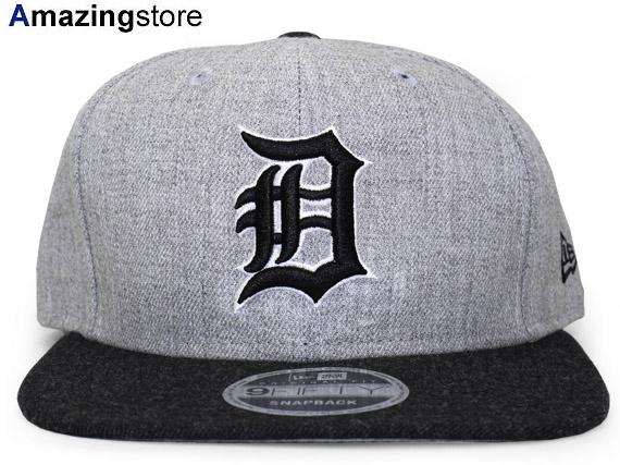 dc27855d07c6ef NEW ERA DETROIT TIGERS new gills Detroit Tigers 9FIFTY snapback MLB gray BLACK  black black ...