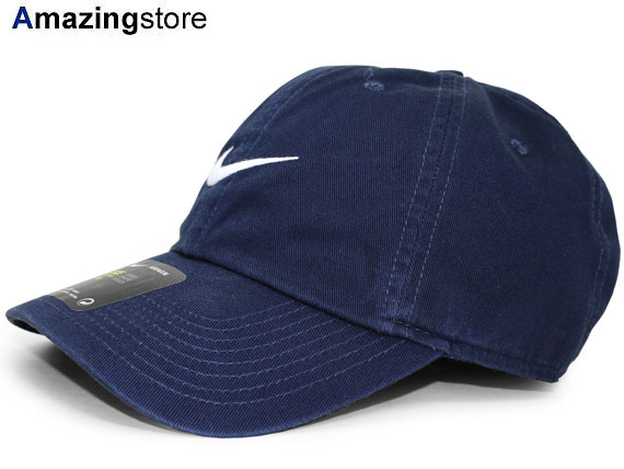 auc-amazingstore  NIKE Nike strap back row profile cap LOW PROFILE DAD HAT  navy dark blue WHITE white white  hat AIR air swash 17 4 5 17 5 1 17 4RE  175RE  ... c4097a66f62