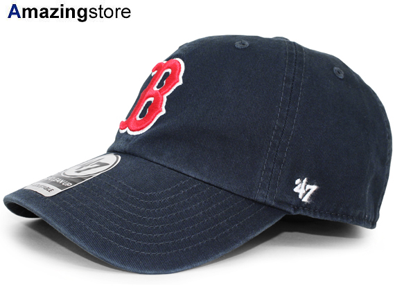 2dc19d0a9d0 47BRAND BOSTON RED SOX forty seven brand Boston Red Sox strap back row  profile cap LOW PROFILE DAD HAT MLB navy dark blue apftsbrs004 [hat  17_5_3FTS ...