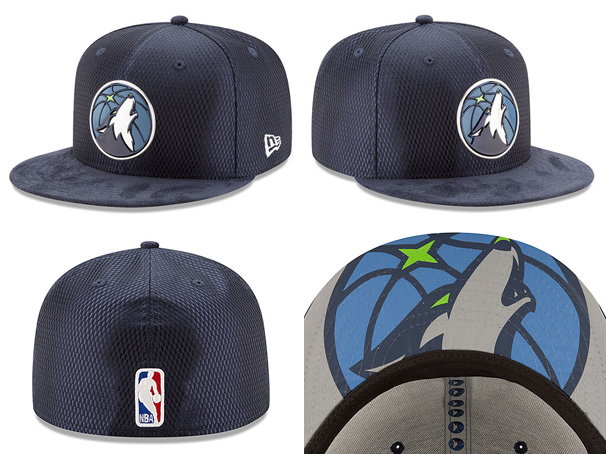 NEW ERA MINNESOTA TIMBERWOLVES new gills T-Wolves draft 59FIFTY フィッテッドキャップ FITTED  CAP AUTHENTIC NBA navy dark blue  hat headgear men ... 2d18c7c2d120