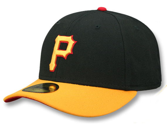 NEW ERA PITSBURGH PIRATES 【MLB COOPERSTOWN 2007-08 LOW-CROWN VINTAGE FIT/BLK-GOLD】 ニューエラ ピッツバーグ パイレーツ 59FIFTY フィッテッド キャップ FITTED CAP クーパーズタウン LOW PROFILE BLACK [帽子 メンズ レディース 17_6_3VIN_17_6_4]