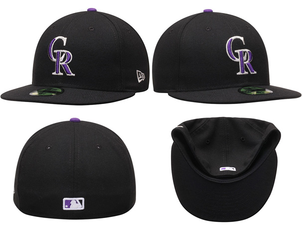 NEW ERA COLORADO ROCKIES new gills Colorado Rockies AUTHENTIC authentic on field  59FIFTY FITTED CAP フィッテッドキャップ MLB BLACK black black  hat men gap ... c6eae22948a5