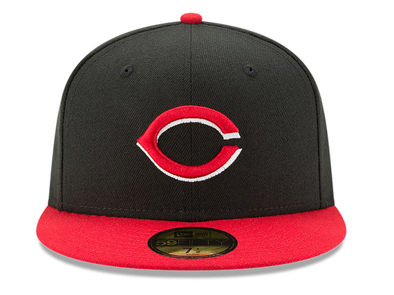 6fa230710cd NEW ERA CINCINNATI REDS new gills Cincinnati Reds AUTHENTIC authentic on  field 59FIFTY FITTED CAP フィッテッドキャップ MLB BLACK black black red red  hat ...