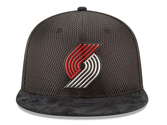 5f12d3a2797dc NEW ERA PORTLAND TRAILBLAZERS new gills Portland Trail Blazers draft 59FIFTY  フィッテッドキャップ FITTED CAP AUTHENTIC NBA BLACK black black  hat headgear ...