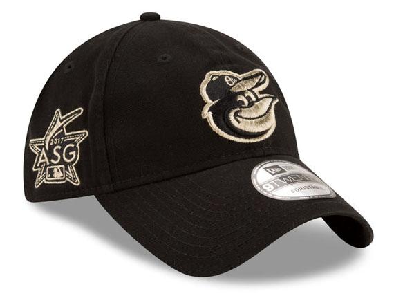 NEW ERA BALTIMORE ORIOLES 【2017 MLB ALL-STAR 9TWENTY STRAPBACK/BLK】 ニューエラ ボルチモア オリオールズ ストラップバック LOW PROFILE DAD HAT TWILL CAP MLB オールスター ブラック BLACK 黒 [帽子 メンズ レディース 大リーグ 17_7_3]
