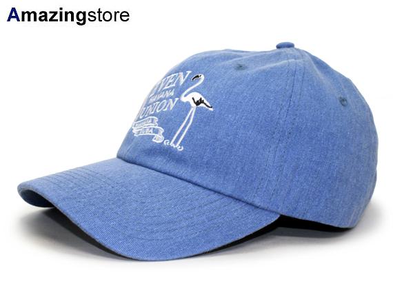 【全3色】7UNION 【7s FLAMINGO STRAPBACK/BLUE】 7ユニオン セブンユニオン ストラップバック ロープロファイルキャップ LOW PROFILE DAD HAT ブルー 青 [TWILL CAP 帽子 cap キャップ 男性用 女性用 メンズ レディース SEB17 17_8_3SU 17_8_4]:Amazingstore