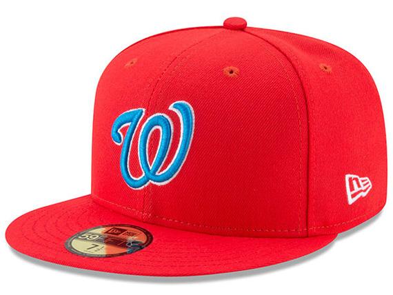 【全24チーム以上】NEW ERA WASHINGTON NATIONALS 【2017 MLB PLAYERS WEEKEND LITTLE-LEAGUE/RED】 ニューエラ ワシントン ナショナルズ ON-FIELD オンフィールド 59FIFTY フィッテッド キャップ FITTED CAP レッド 赤 [帽子 キャップ BIG_SIZE 17_8_4NE 17_8_5]