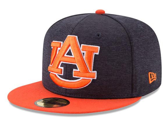 NEW ERA AUBURN TIGERS new gills Auburn Tigers 59FIFTY フィッテッドキャップ FITTED CAP  XL-LOGO SHADOW TECH navy dark blue ORANGE orange  hat cap 17 8 4FIT ... ea9685da8dd9