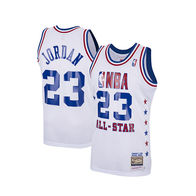 【海外取寄】マイケル ジョーダンモデル ユニフォームジャージー【HWC 1988 NBA ALL-STAR GAME AUTHENTIC JERSEY/WHT】MITCHELL&NESS ミッチェルアンドネス MICHEAL JORDAN UNIFORM 20_2_2NBA20_2_3