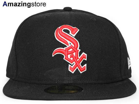 ニューエラ シカゴ ホワイトソックス 【MLB TEAM-BASIC/BLACK-RED】 NEW ERA CHICAGO WHITE SOX [18_2RE 18_3RE]