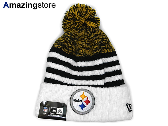 New Era Pittsburgh Steelers New Gills Pittsburgh Steelers Knit Hat Beanie Size Men Gap Dis Stripe 15 2 1 Which Hat Headgear New Era Cap New Gills Cap