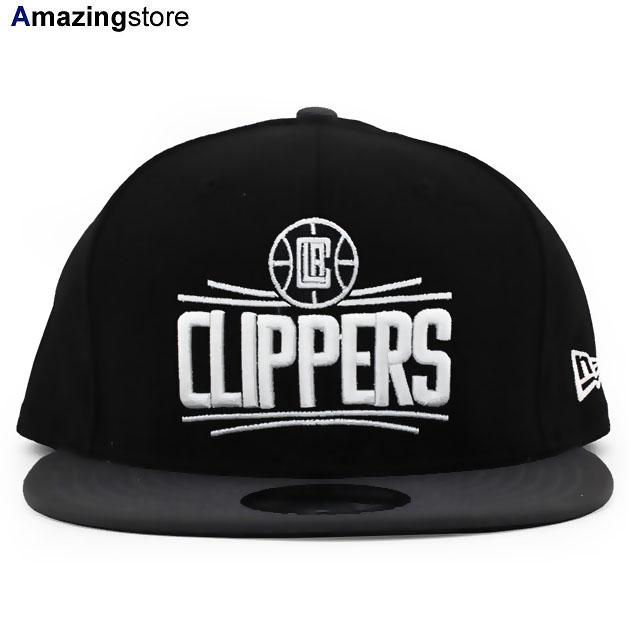 ニューエラ 9FIFTY スナップバック ロサンゼルス クリッパーズ 【NBA 2T TEAM-BASIC SNAPBACK/BLK-GRAPHITE】 NEW ERA LOS ANGELES CLIPPERS ブラック グラファイト [19_8_3NE 19_8_4]