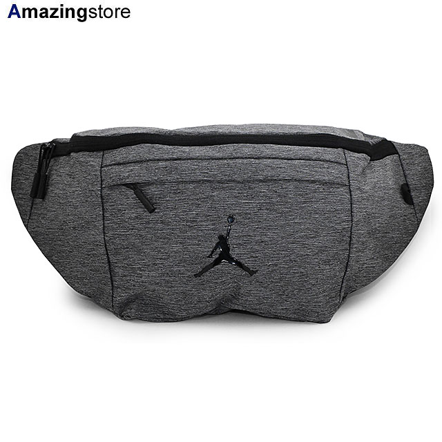 【あす楽対応】ジョーダンブランド バッグ 【JUMPMAN OVERSIZED CROSSBODY BAG/CARBON HEATHER】 JORDAN BRAND [19_9_2AJ 19_9_3]