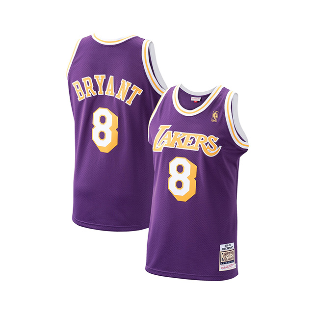 【予約販売20年8月入荷予定】コービー ブライアント ユニフォームジャージー【1996-97 HARDWOOD CLASSICS AUTHENTIC PLAYER JERSEY/PUR】MITCHELL&NESS LOS ANGELES LAKERS ロサンゼルス レイカーズ[20_1_5KOBE+BRYANT NBA]