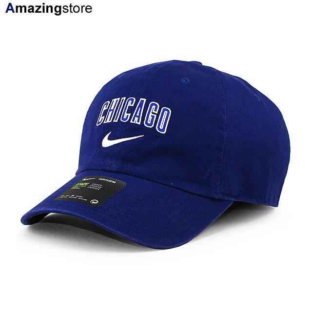 ナイキから被り易いローキャップの入荷です 男女兼用 格安 価格でご提供いたします 10%OFF あす楽 ナイキ シカゴ カブス MLB HERITAGE 86 WORDMARK CUBS H86 RYL CHICAGO STRAPBACK BLUE 21_7RE_21_8RE_0804 ブルー CAP NIKE