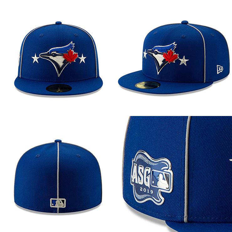 MLBオールスターモデル ニューエラ 59FIFTY トロント ブルージェイズ2019 MLB ALL STAR GAME ON FIELD FITTED RYLNEW ERA TORONTO BLUE JAYS19 7 1MLB19 7 2kwPXTOiZu