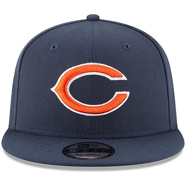ニューエラ シカゴ ベアーズ 9FIFTY スナップバック キャップ 【NFL TEAM-BASIC SNAPBACK CAP/NAVY】 NEW ERA CHICAGO BEARS [19_10_5NE 19_11_1]
