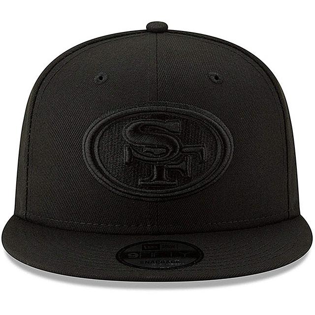ニューエラ サンフランシスコ 49ERS 9FIFTY スナップバック キャップ 【NFL TEAM-BASIC SNAPBACK CAP/BLACKOUT】 NEW ERA SAN FRANCISCO 49ERS [19_10_5NE 19_11_1]