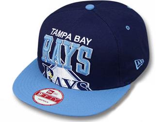 online retailer f4ec4 05dfc NEW ERA TAMPA BAY RAYS new era Tampa Bay rays 9 FIFTY Snapback Hat head  gear ...