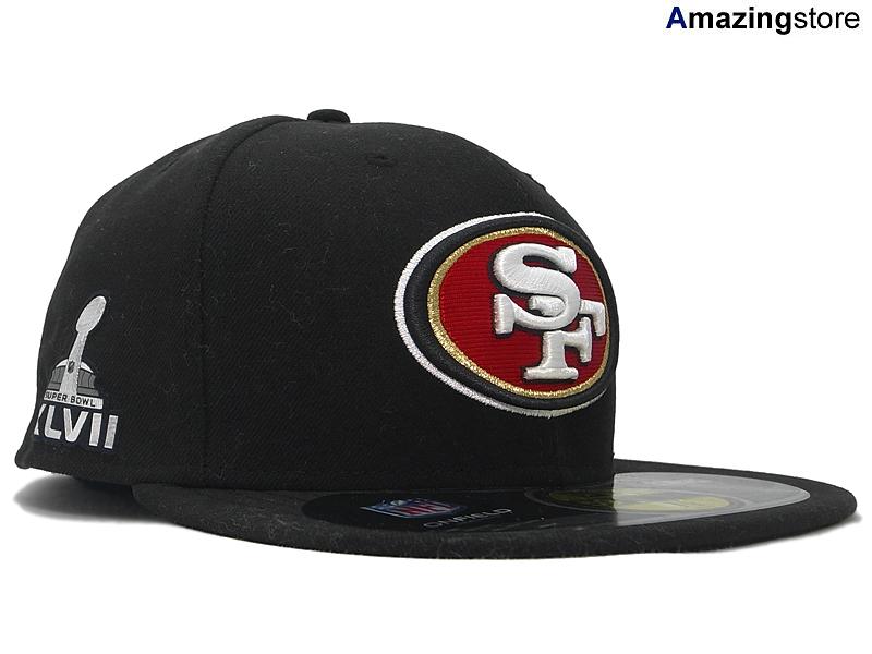 第47回スーパーボウルモデルのNEW ERA 59FIFTY NEW SAN FRANCISCO 49ERS NFL SUPER BOWL XLVII ONFIELD BLK お気にいる ニューエラ サンフランシスコ フォーティーナイナーズ SUPREME new BK neweraキャップ ニューエラキャップ ヘッドギア サイズ cap メンズ レディース NY 大きい LA 爆買いセール 帽子 eraキャップ era