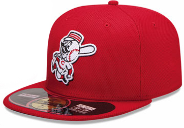 メンズ Mens Cincinnati Reds 59Fifty Alternate Black Authentic Hat ニューエラ