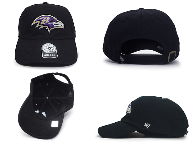 47 BRAND BALTIMORE RAVENS forty seven brand Baltimore Ravens back strap low  profile Cap LOW PROFILE  Hat headgear Cap CAP BALL CAP baseball cap 15   10    ... 45e9378de