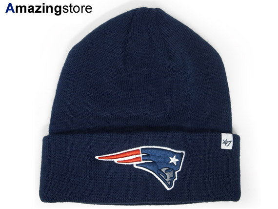 47 BRAND NEW ENGLAND PATRIOTS forty seven brand new England Patriots knit  hat Beanie  Hat ... 39fbad7b619