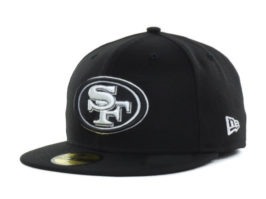 bee6da361 NEW ERA SAN FRANCISCO 49ERS new gills new gills San Francisco forty-niners  59FIFTY フィッテッドキャップ FITTED CAP black white BLK WHT  size men gap Dis ...