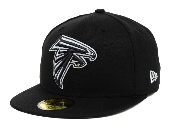 7e7909dd NEW ERA ATLANTA FALCONS new gills Atlanta Falcons 59FIFTY フィッテッドキャップ FITTED  CAP black white BLK WHT [size men gap Dis 17_2_3FIT ...