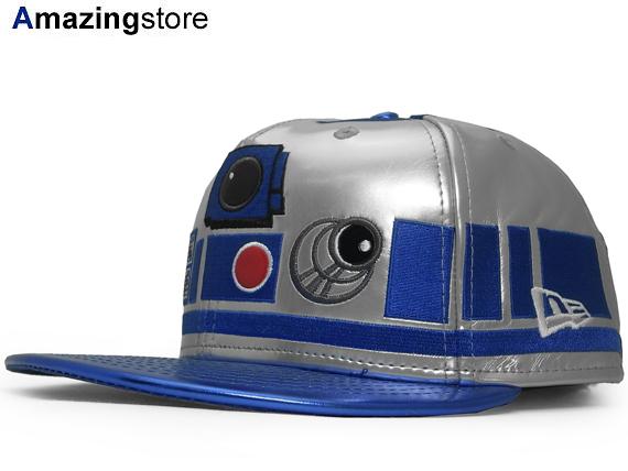 NEW ERA STAR WARS R2D2 new era Star Wars Arze dirty 59FIFTY fitted cap FITTED CAP [Hat headgear HI-RES print 15 _ 7 _ 4STW15_7_5]