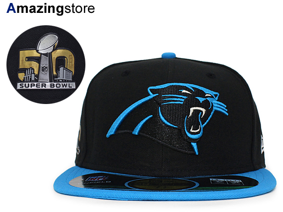 NEW ERA CAROLINA PANTHERS new era Carolina Panthers 59FIFTY FITTED CAP  fitted caps Super Bowl  Hat head gear new era cap new era Cap large size  GOLD-50 16   ... 987f91f59