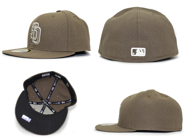 san diego padres cap history new era fitted caps hat brown uk