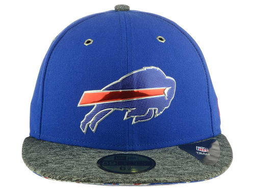 NEW ERA BUFFALO BILLS 【2016 NFL DRAFT/RYL-DARK HEATHER GREY】ニューエラ バッファロー ビルズ ドラフト 59FIFTY フィッテッド キャップ FITTED CAP AUTHENTIC [帽子 ヘッドギア メンズ 16_4_2DRF16_4_3]