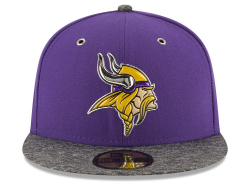7c7d439cd NEW ERA MINNESOTA VIKINGS new gills Minnesota Vikings draft 59FIFTY  フィッテッドキャップ FITTED CAP AUTHENTIC [hat headgear men ...