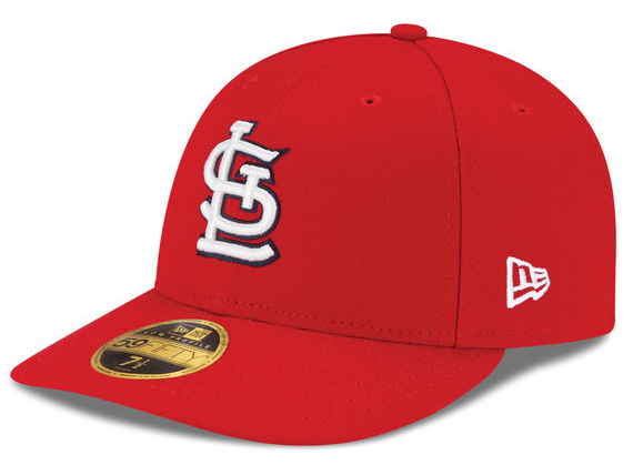 NEW ERA ST.LOUIS CARDINALS 【LOW CROWN ON-FIELD PERFORMANCE GAME/RED】 ニューエラ セントルイス カージナルス オンフィールド 59FIFTY FITTED CAP フィッテッド キャップ LOW PROFILE CAP MLB レッド 赤 [AUTHENTIC オーセンティック 帽子 メンズ 17_7_2LOW17_7_3]