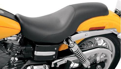 【サドルマン製】 PROFILER SEAT ダイナモデル用:08030135 2004~05年対応 ハーレー
