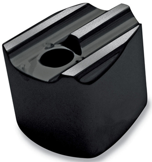 【スイッチ】 カイグニッションスイッチ ノブカバー ブラック ハーレーパーツ