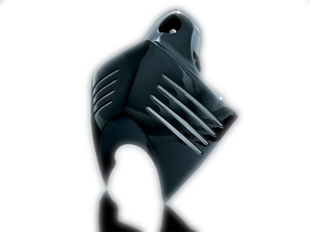 【ホーン】V-SHIELD ホーンカバー:ブラック Kuryakyn製 ハーレーパーツ