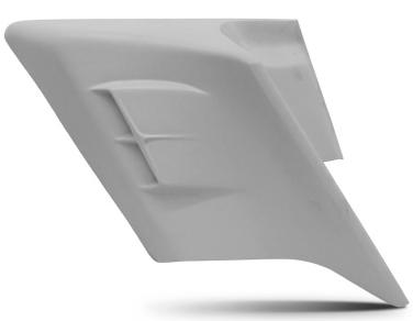 【カバー】 SWOOP サイドカバー :スキャロップ 未塗装 05201178 ハーレーパーツ