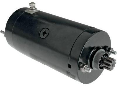 WEB限定 ハーレーパーツ 21100223 電装品 ブラック ハイトルク 激安価格と即納で通信販売 スターター:1966~82年ショベルヘッドに適合