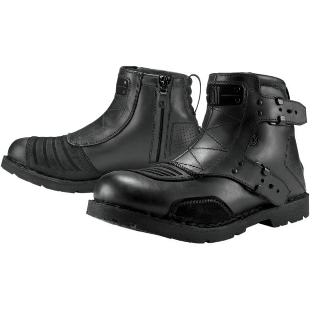 【34030337】 BLACK EL BAJO BOOTS 27.0cm/27.5cm/28.0cm/28.5cm/29.0cm ハーレーパーツ