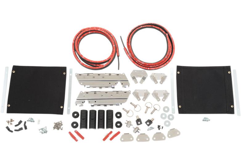 【35011083】サドルバッグ ハードウェアキット 1993~13年ツーリングモデルでハードサドルバッグ装着車 ハーレーパーツ