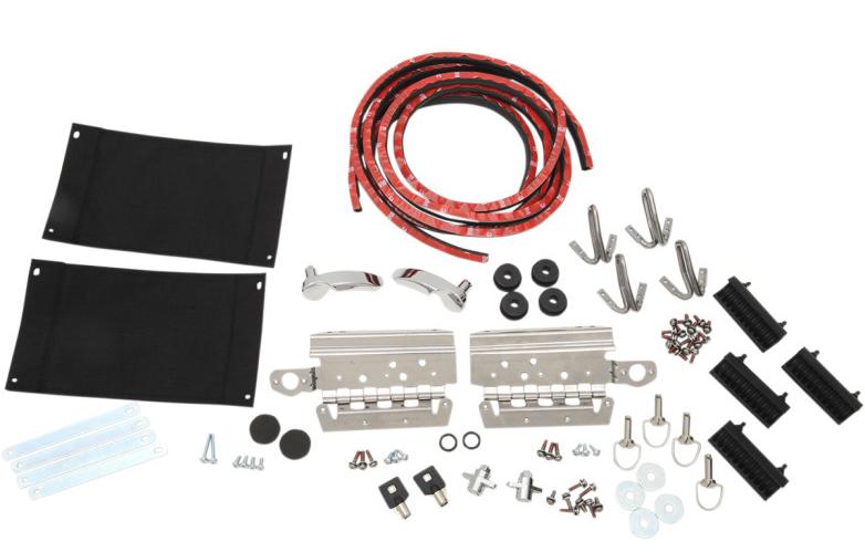 【35011152】サドルバッグ ハードウェアキット 2014年以降ツーリングモデルでハードサドルバッグ装着車 ハーレーパーツ