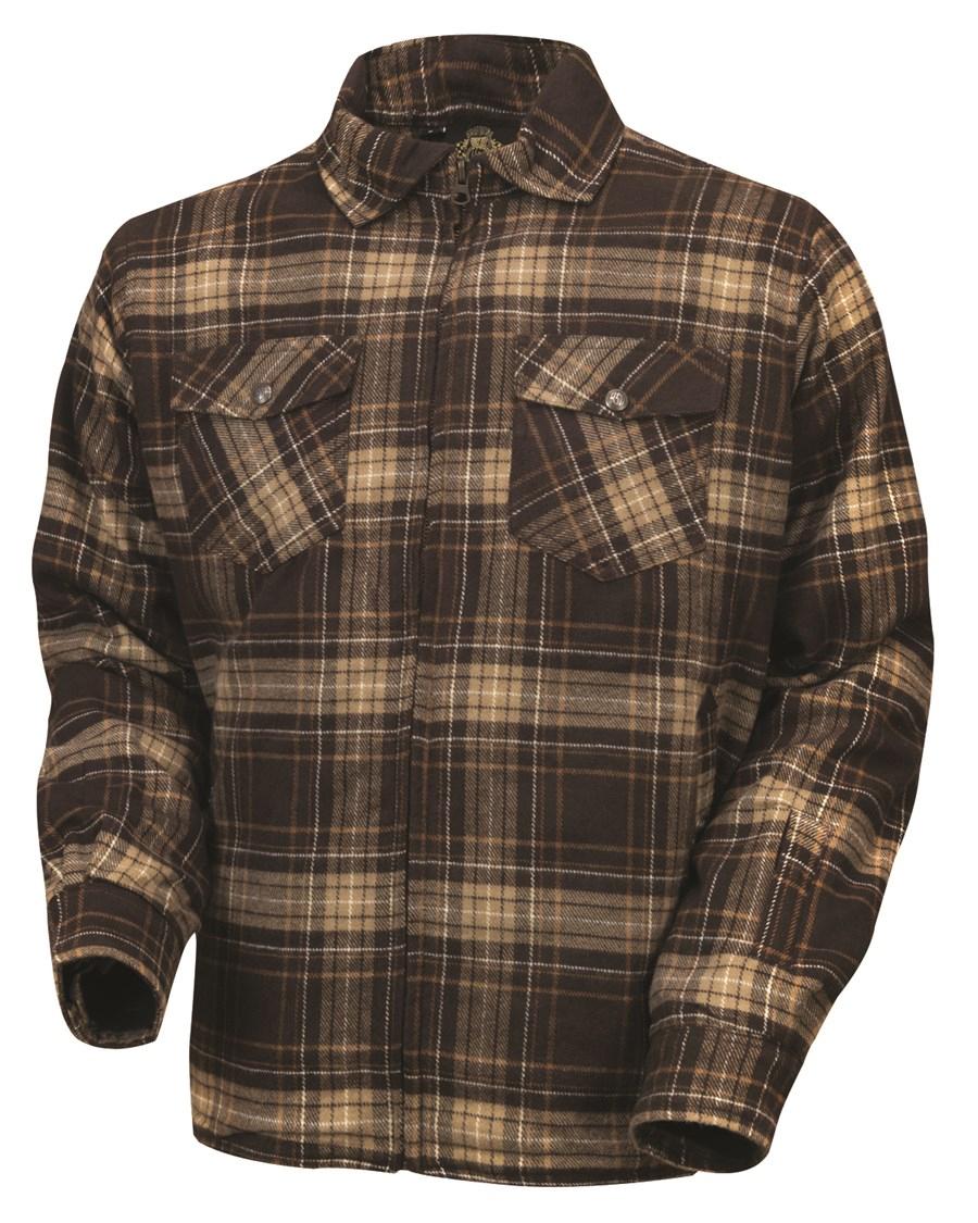 【rd7990】 Stoddard Plaid Shirt ブラウン S/M/L/XL ハーレーアパレル