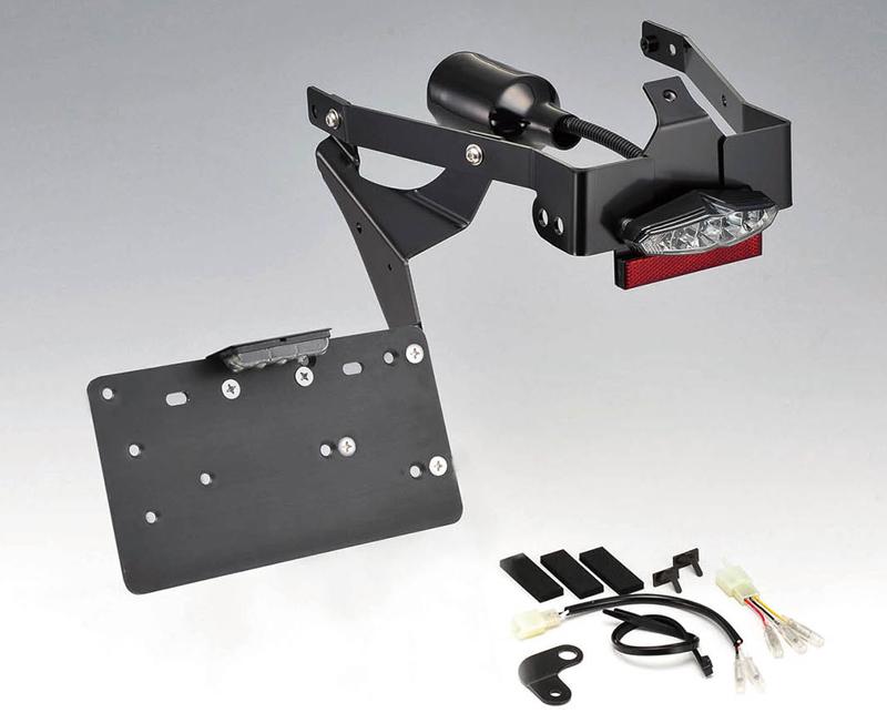 【hd-01440】 ナンバーサイドマウントキット ハンガータイプ XG750に適合 ハーレーパーツ