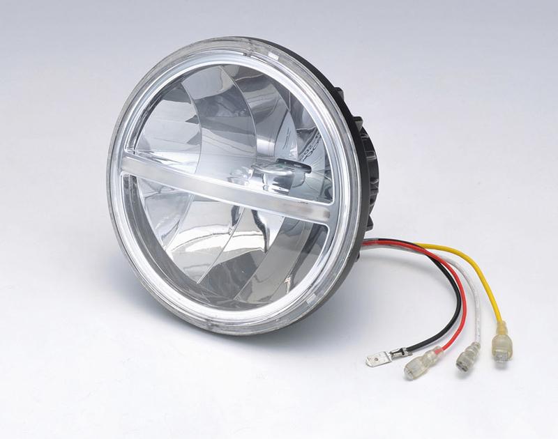 【217-6142】 LEDヘッドライトユニット ハーレーパーツ
