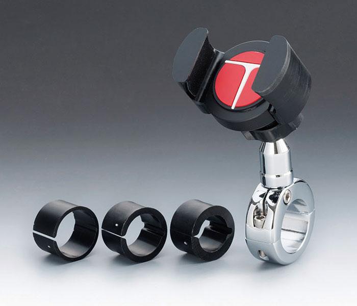 【tm-430913ctgp】 Tグリッパー 4Gマウントセット メッキ ハーレーパーツ